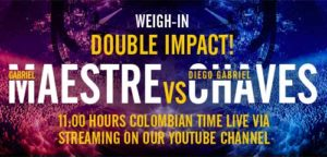 Live Weigh-in: Double Impact!