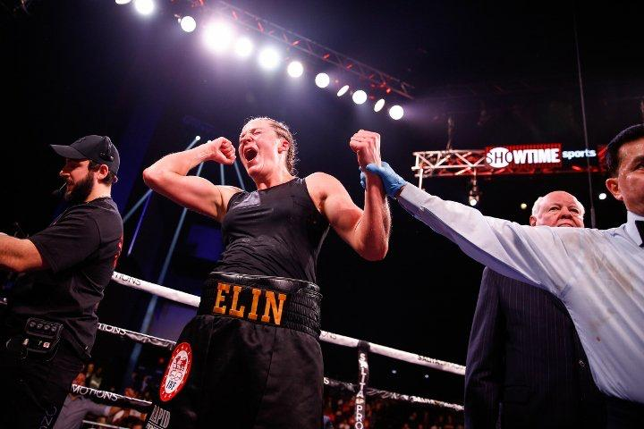 Cederroos defeats Napoleon and she is the new WBA Super Middleweight Champion