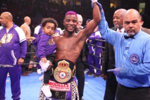 Colbert captured the WBA Interim Junior Lightweight belt against Corrales