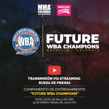 """Future WBA Champions"" Camp Press Conference in Medellin will be live streamed"