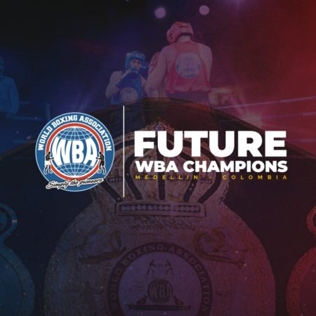 "Future WBA Champions"" Camp in Medellin will have three days of fights"