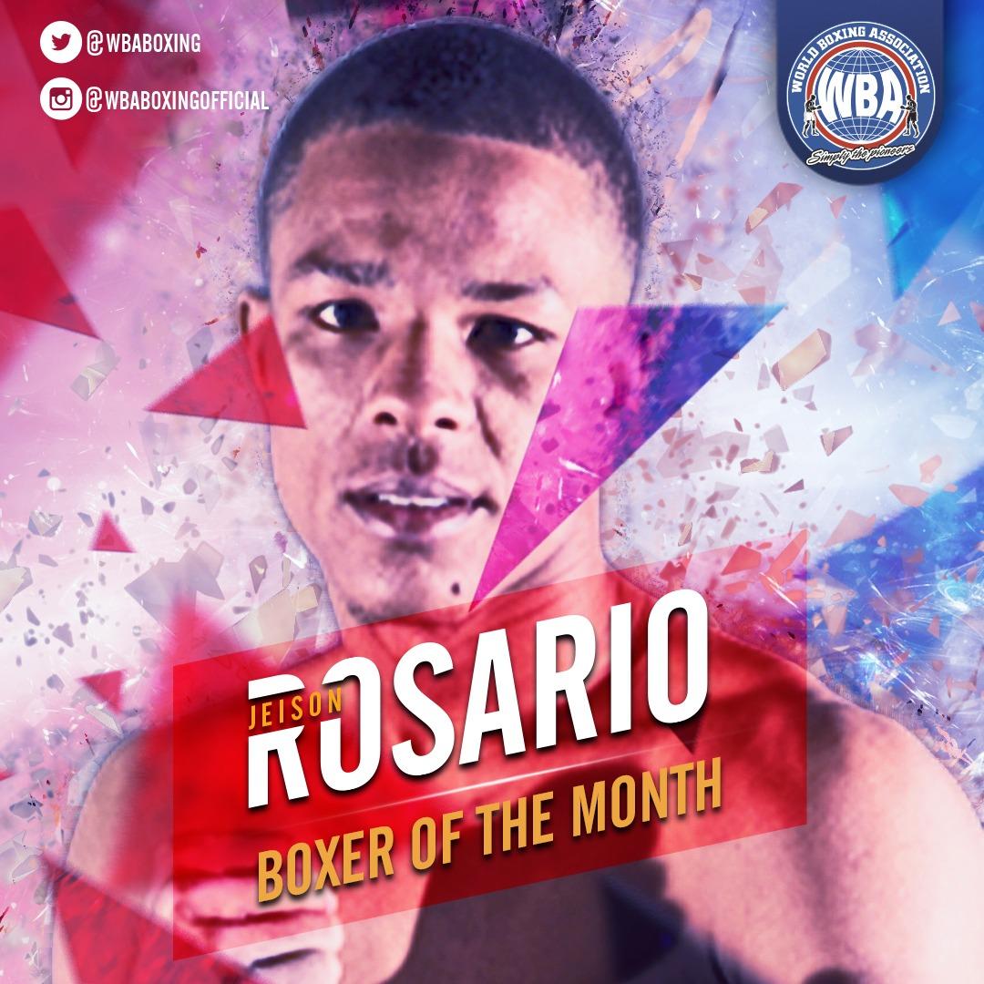 Jeison Rosario- Boxeador del mes de enero 2020