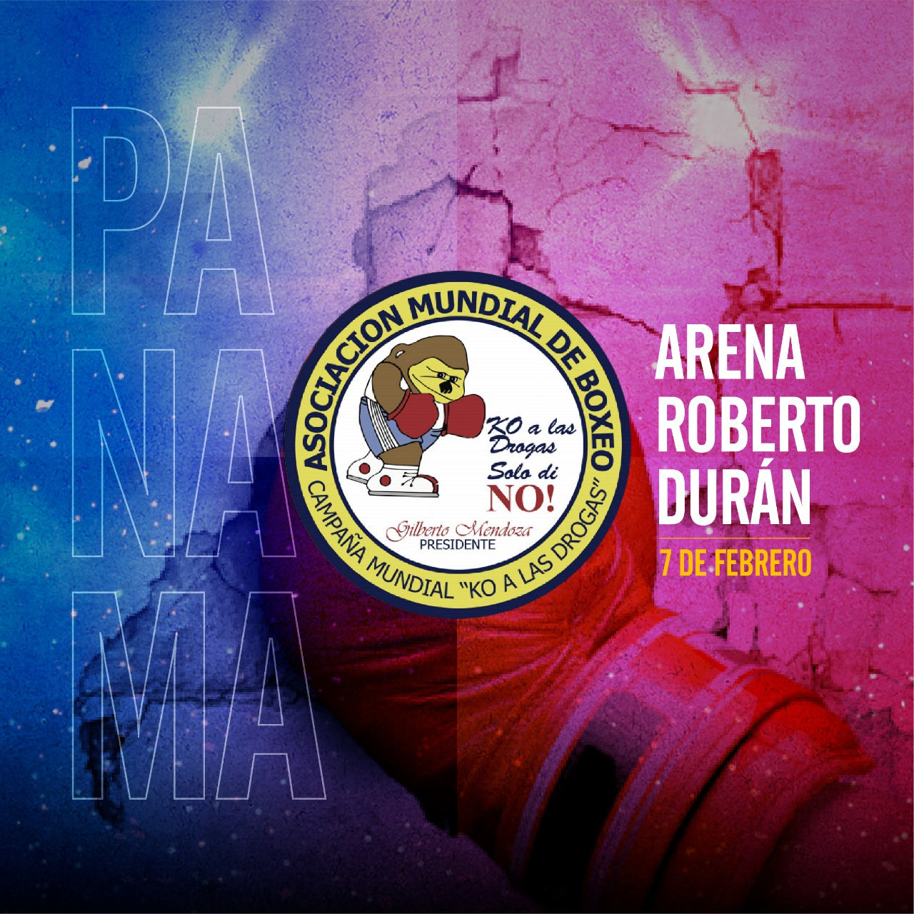36th Edition of KO to Drugs is Around the Corner in the Hand of Panamá and The WBA