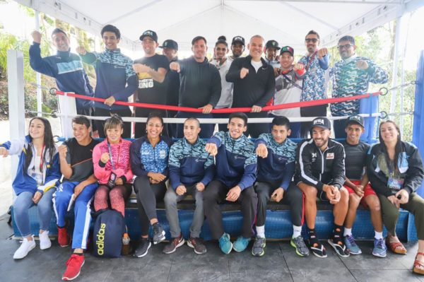 Gilberto Jesús Mendoza wants to show that the WBA is a family
