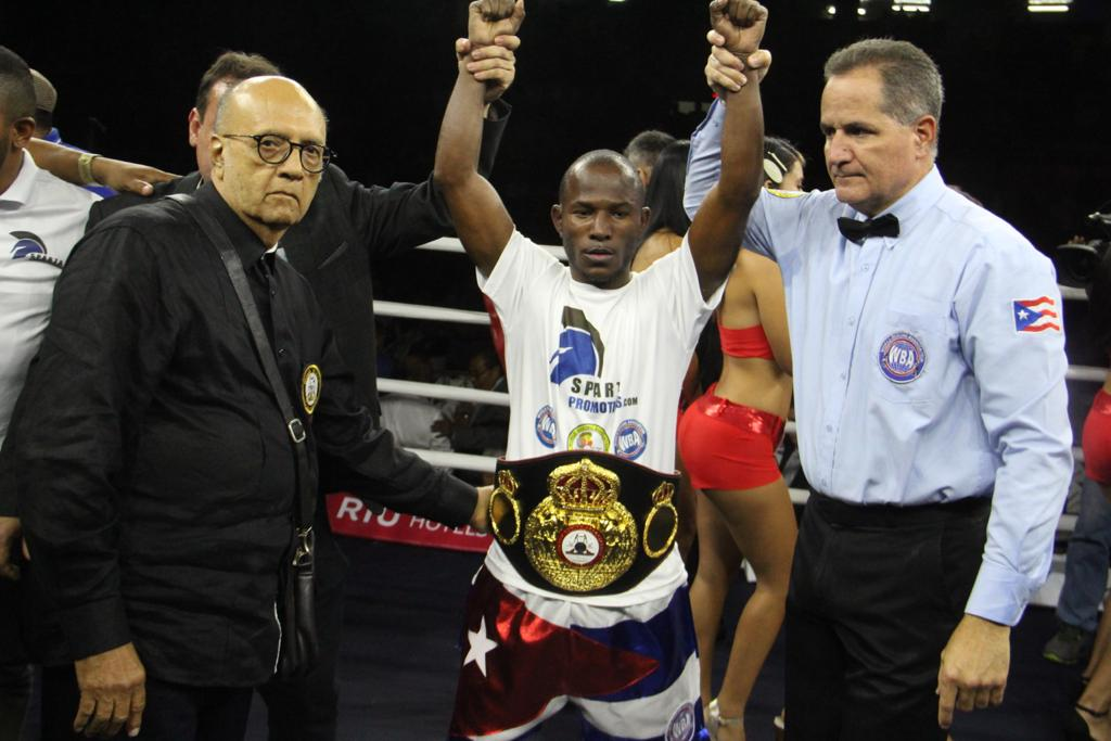 Daniel Matellón conquered the Interim WBA Light Flyweight Championship