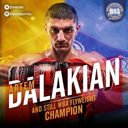 Dalakian dominates Pérez to retain his WBA Flyweight belt