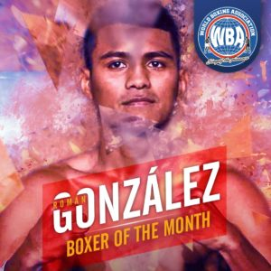 Román González– Boxer of the month February 2020