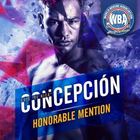 Luis Concepción –Mención honorífica AMB –Febrero 2020