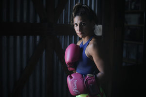 Nazarena Romero awaits for her title shot
