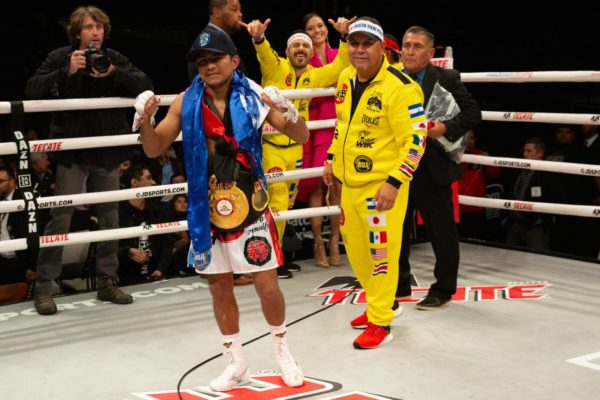 """Chocolatito"" González will defend his belt against ""Jiga"" González in Mexico"