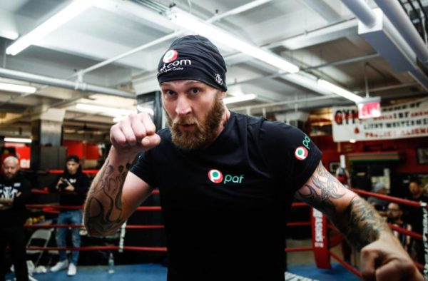 Kownacki and Helenius showed their weapons in open workout before their eliminator fight