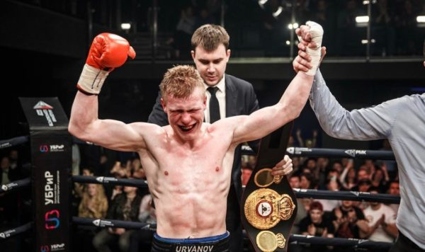 Urvanov captured the Gold  Belt with a tremendous Knockout against Sulaimanbek
