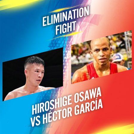 AMB ordena eliminatoria entre Osawa y García
