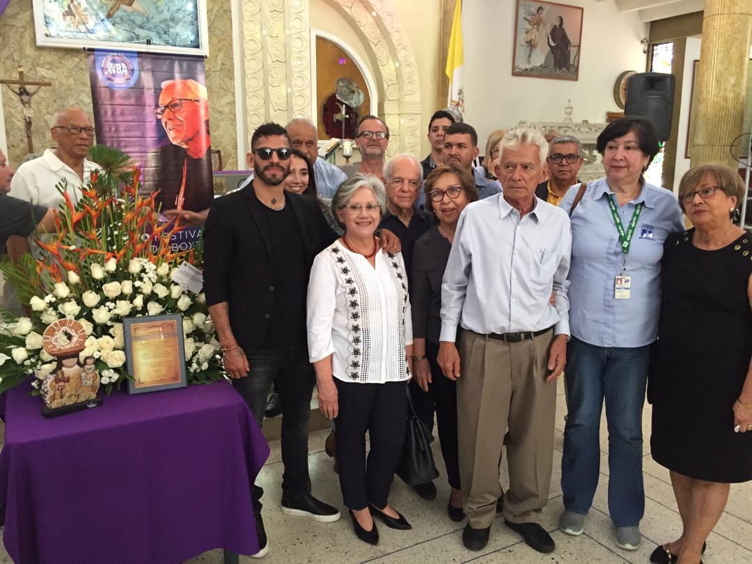 Boxing family commemorated Gilberto Mendoza with a Mass