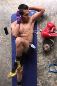 De Gracia and Arboleda haven't stopped training in Panama