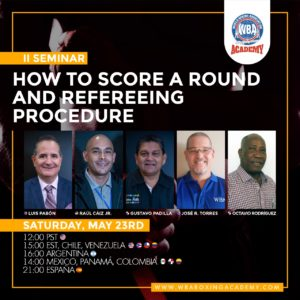 WBA Academy to hold second Judges and Referees seminar this Saturday