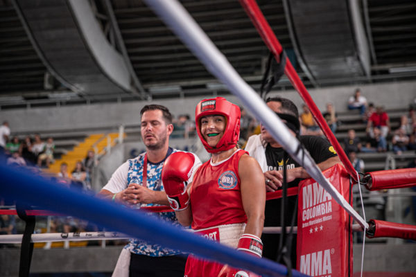 World Minimum Weight Champion Yesica Bopp dreams with the olympic Tuti