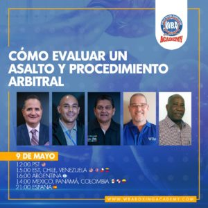WBA Academy seminar will have the best judges and referees
