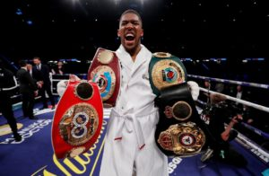 Joshua and Fury agree to fight in 2021