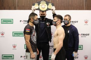 Agrba and Dilanyan ready to fight for WBA Continental title on Monday
