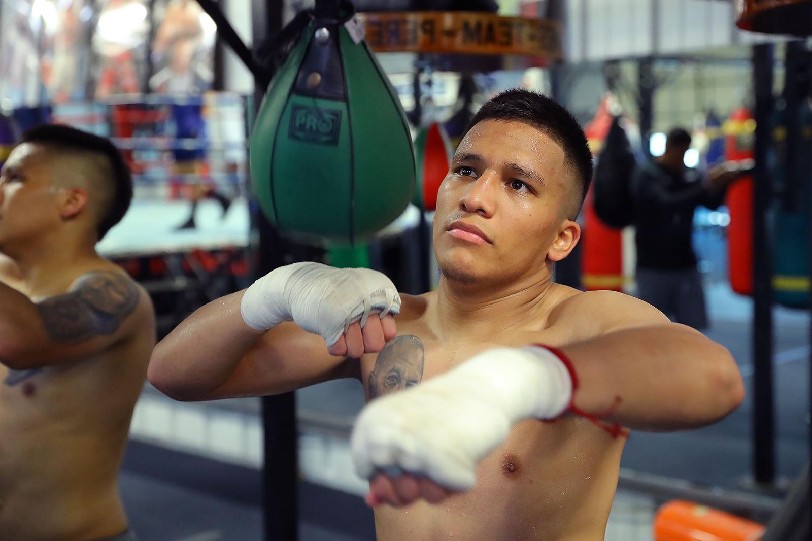 """Face to face with """"El Profesor"""" Franco, the WBA Super Flyweight challenger"""