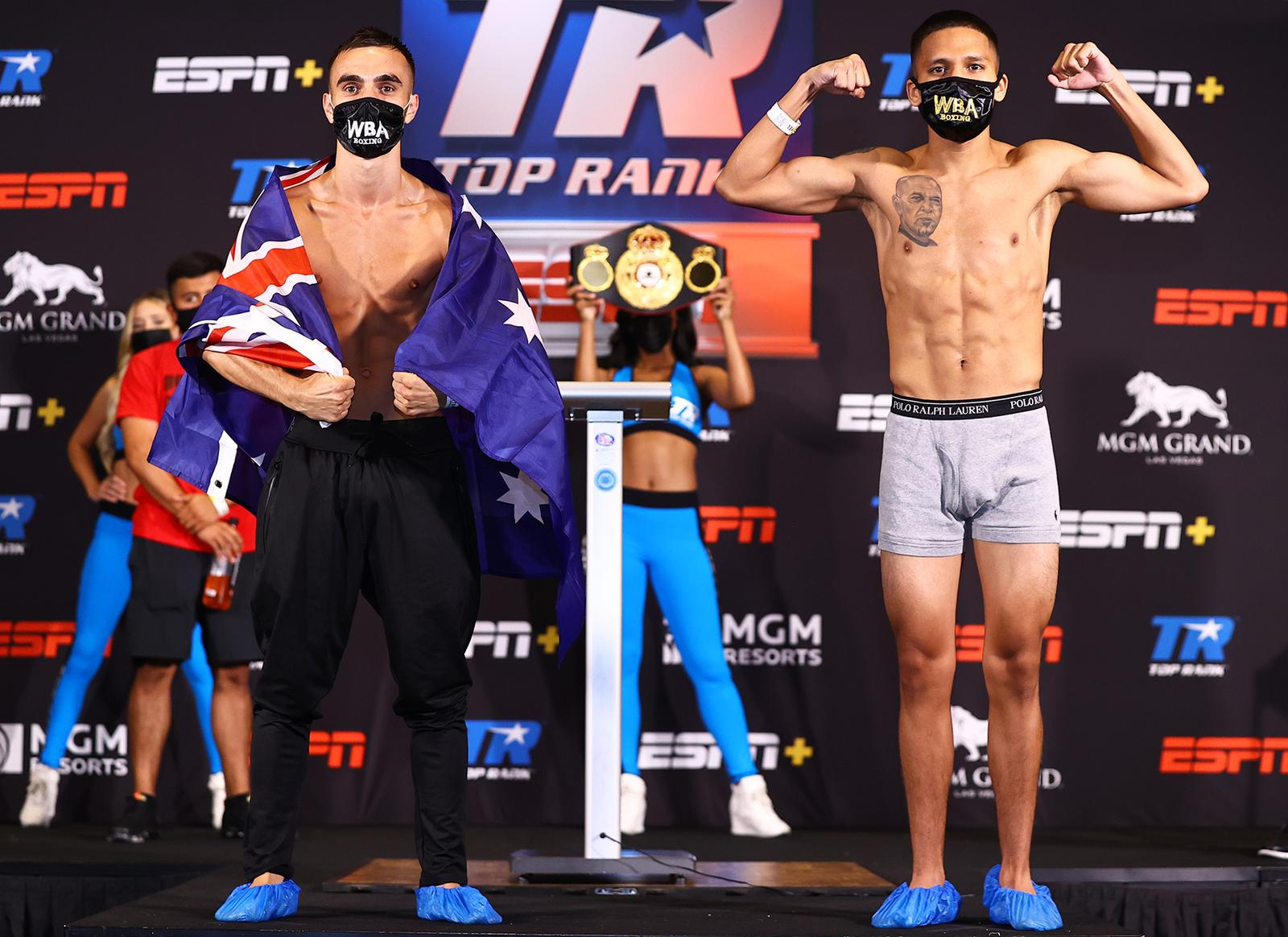 Moloney and Franco defeated the scale in Las Vegas
