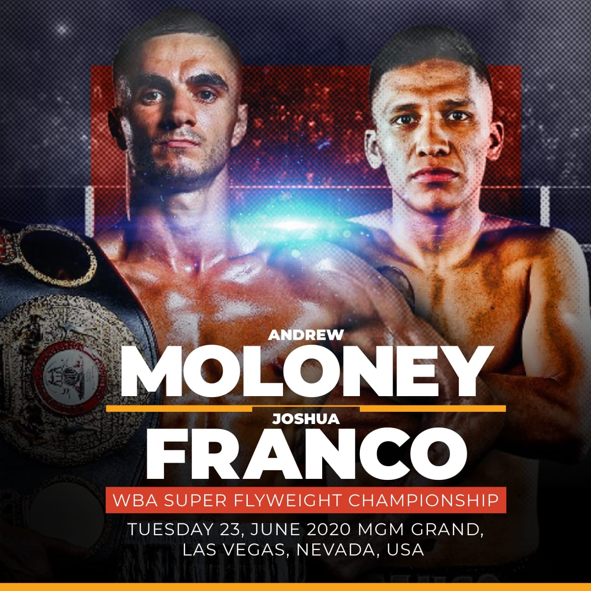 Moloney will be the first World Champion back in the ring tonight
