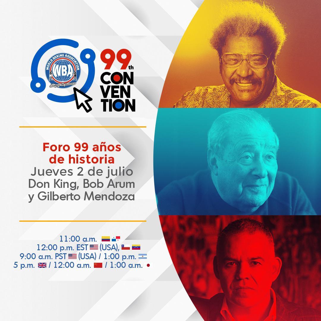 Don King protagonizará foro en la convención 99 de la AMB junto a Bob Arum