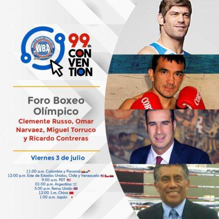 Foro Boxeo Olímpico será prioridad en la Convención 99 AMB