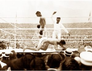 Dempsey vs. Carpentier; the first fight in history sanctioned by the WBA