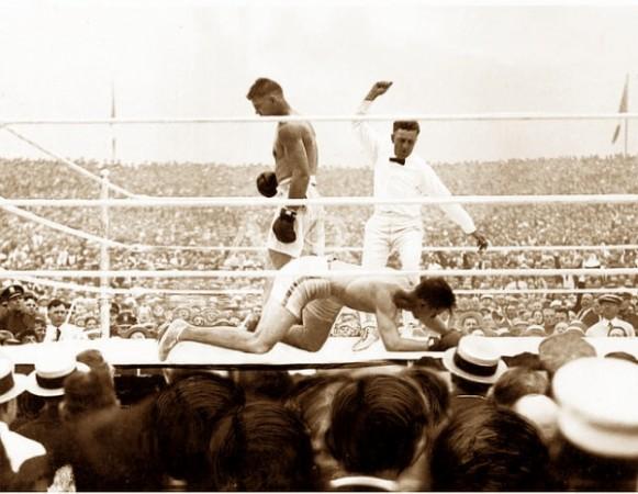 Dempsey vs. Carpentier; La primera pelea de la historia sancionada por la AMB