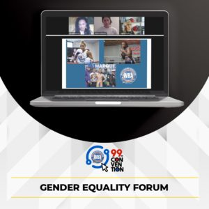 Se desarrolló con éxito el foro por la igualdad de género  en el tercer día de la 99 convención de la Asociación Mundial de Boxeo