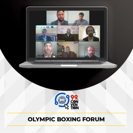 The WBA discussed the challenges for the amateur boxing during the Olympic Boxing Forum
