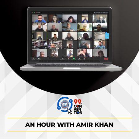Khan compartió con los fanáticos en la Convención AMB