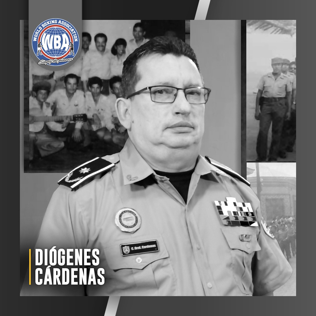 The WBA regrets the death of Diogenes Cardenas