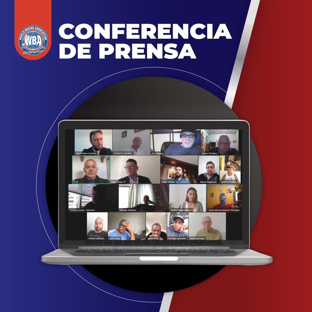 Gilberto Jesús Mendoza dio importantes anuncios en conferencia de prensa online