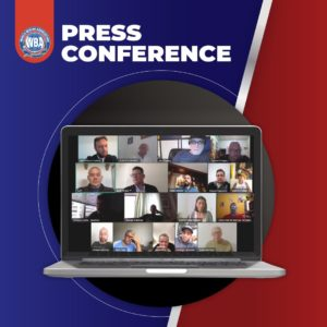 Gilberto Jesús Mendoza made important announcements during an online press conference