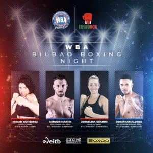 WBA Bilbao Boxing Night will feature Miriam Gutierrez vs. Szilvia Szabados