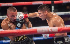 Ortiz noqueó a Vargas y retuvo su faja Gold AMB en Indio