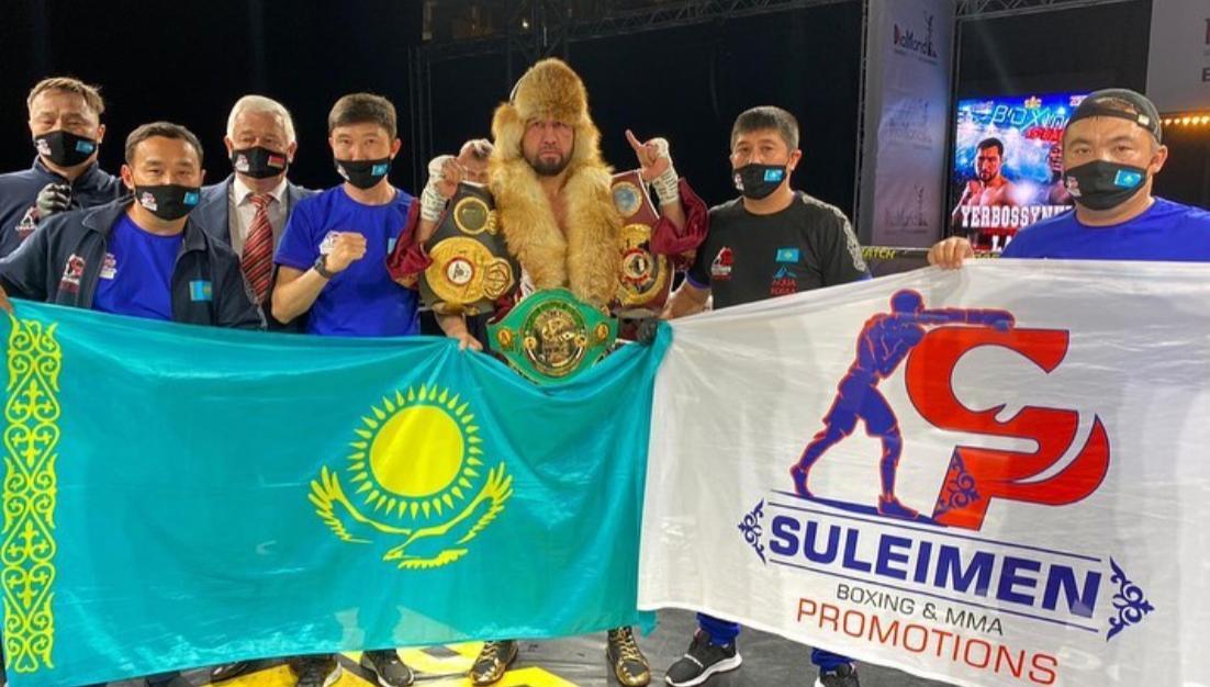 Yerbossynuly retained his WBA-International belt in Minsk