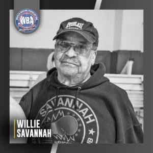 AMB lamenta el fallecimiento de Willie Savannah