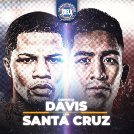 Davis-Santa Cruz will fight for the WBA Super Featherweight and Lightweight titles this Saturday