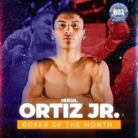 Vergil Ortiz Jr. es el boxeador del mes AMB