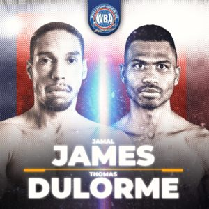 James-Dulorme to fight for the WBA Interim Welterweight title on Saturday