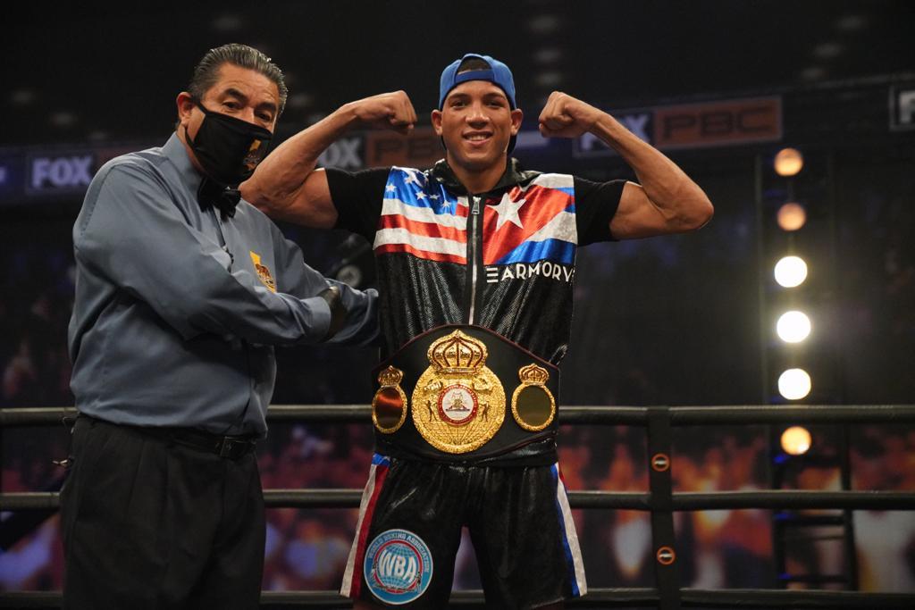 David Morrell made history in LA and is the new WBA interim champion