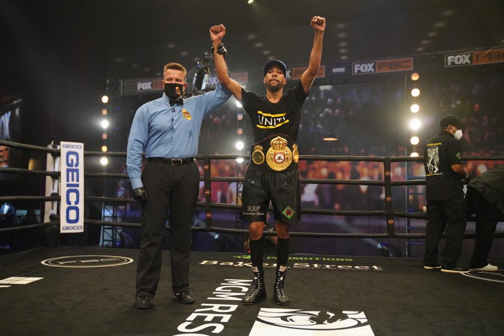 Jamal James derrotó a Thomas Dulorme y es el nuevo monarca interino welter AMB