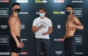 Conway and Mansouri made weight for this Friday