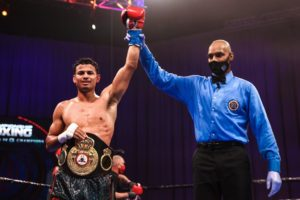 Romero defeated Maríñez in a tough fight and is the new WBA Interim champion