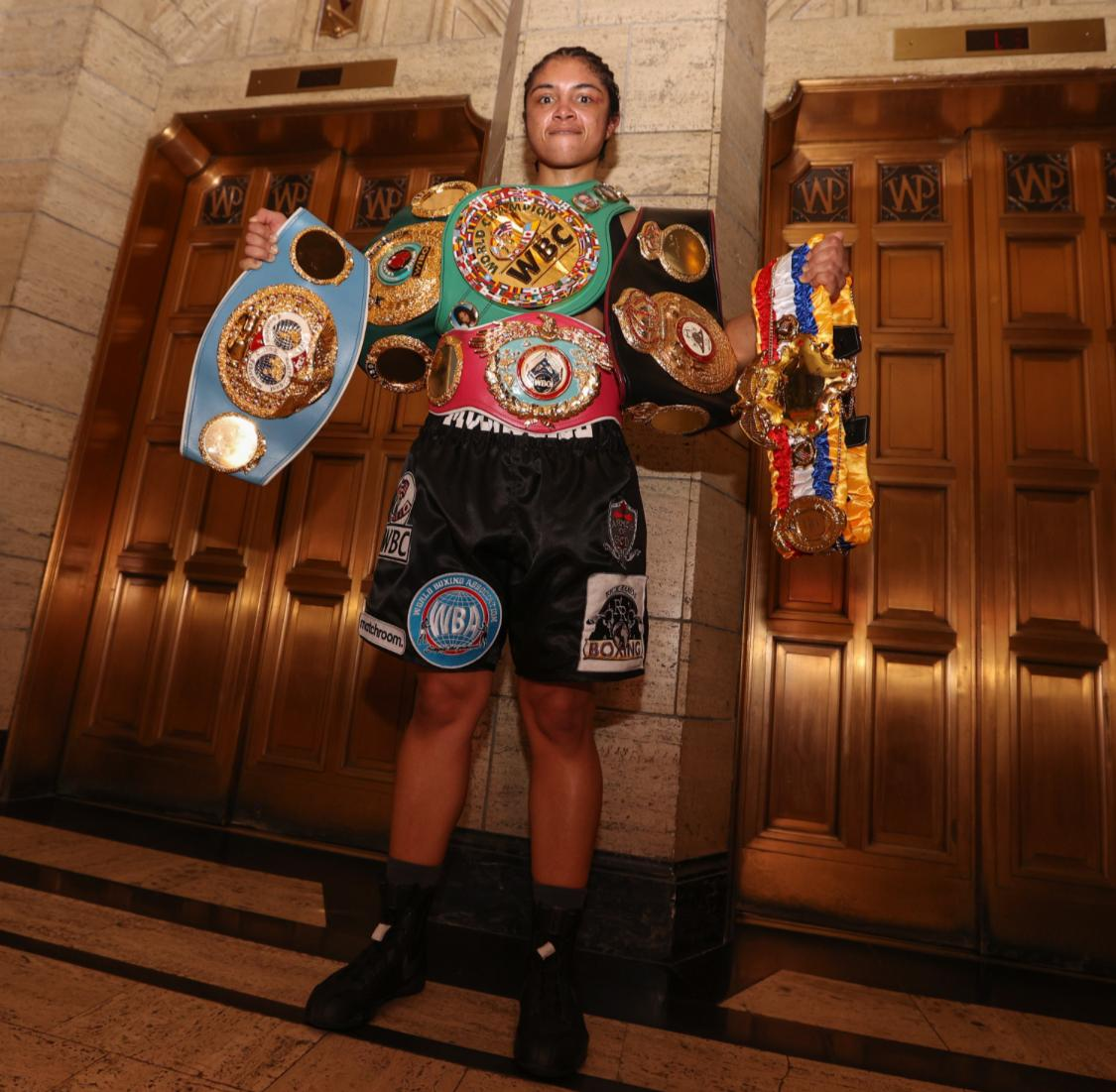 McCaskIll made history in female boxing