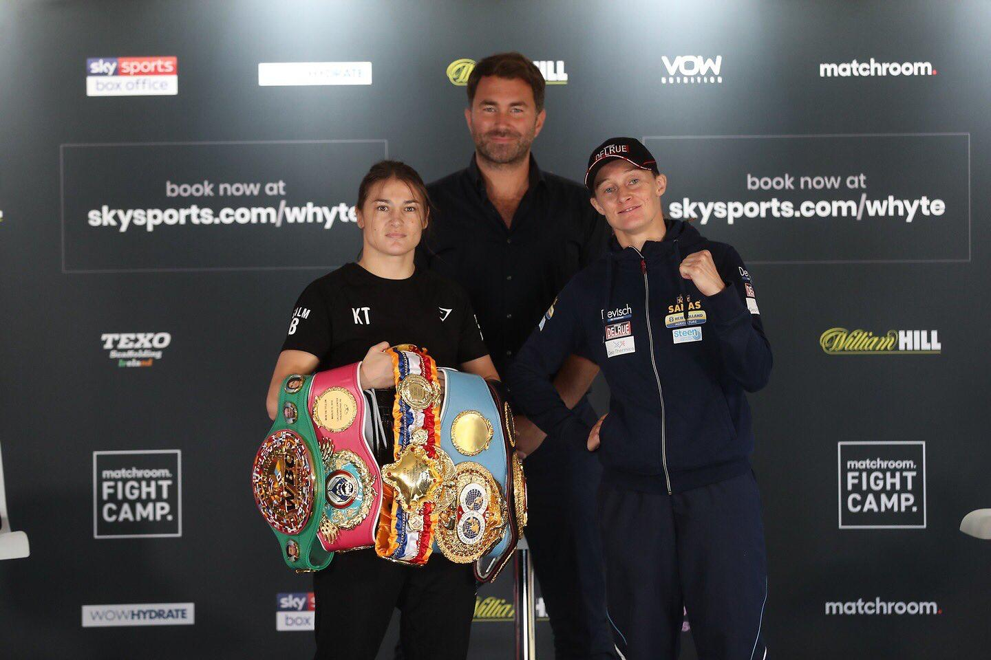 Taylor and Persoon met face to face at a press conference